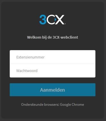 3cx login